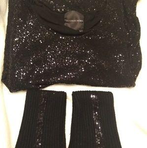 Victoria secret sequin long shirt/ Dress